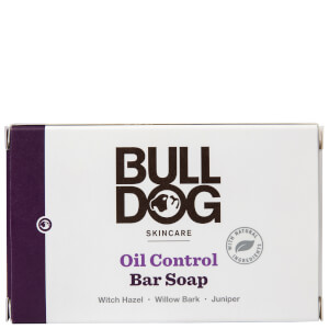 Bulldog Oil Control Bar Soap 200g