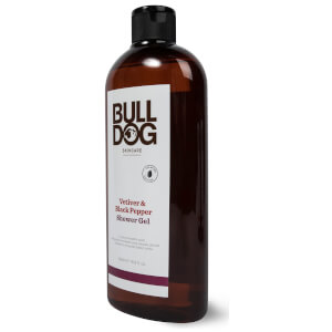 Bulldog Black Pepper & Vetiver Shower Gel 500ml: Image 2