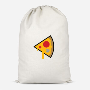 Pizza Slice Cotton Storage Bag