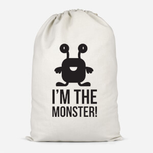 I'm The Monster Cotton Storage Bag