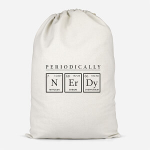 Periodically Nerdy Cotton Storage Bag