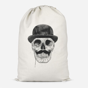 Monocle Skull Cotton Storage Bag