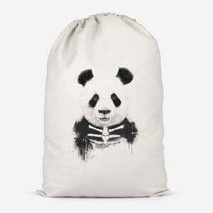 Skull Panda Cotton Storage Bag