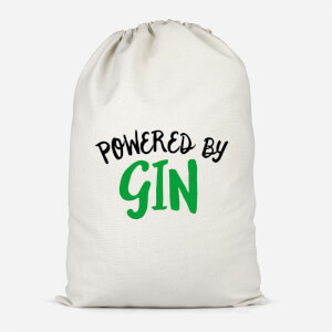 Powered By Gin Cotton Storage Bag