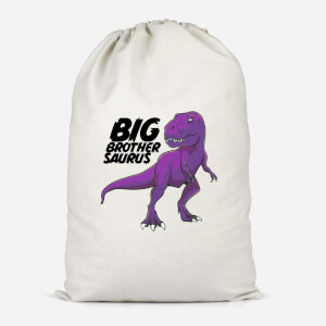Im A Big Brothersaurus Cotton Storage Bag