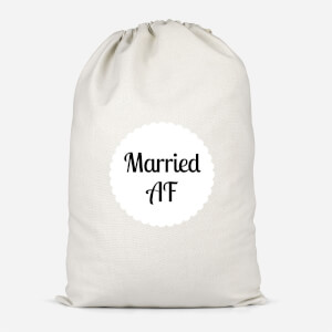 Married AF Cotton Storage Bag
