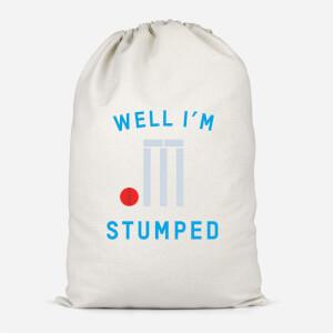 Well Im Stumped Cotton Storage Bag