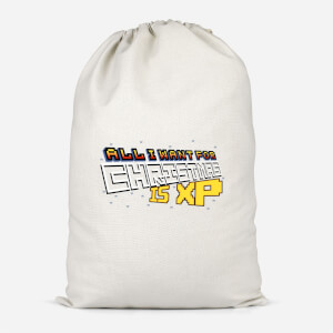 All I Want For Xmas Is XP Cotton Storage Bag