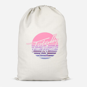 Totally Rad Cotton Storage Bag
