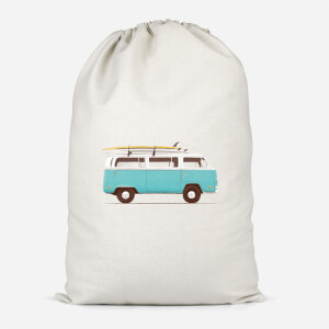 Blue Van Cotton Storage Bag