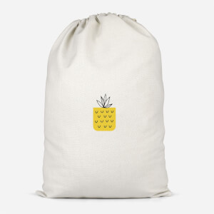 Pineapple Pocket Cotton Storage Bag