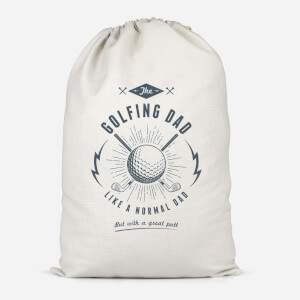 Golfing Dad Cotton Storage Bag
