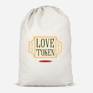 Love Token Cotton Storage Bag