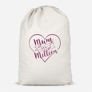 Mum In A Million Cotton Storage Bag