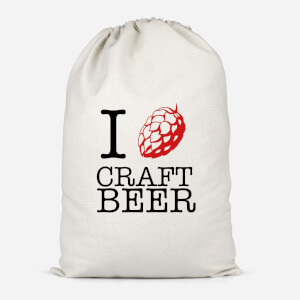 I Hop Craft Beer Cotton Storage Bag