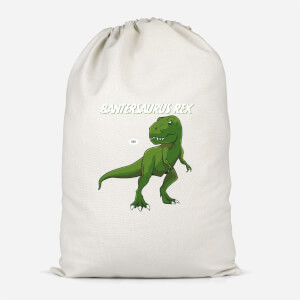 Bantersaurus Rex Cotton Storage Bag