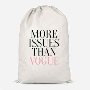 More Issues Than Vogue Cotton Storage Bag