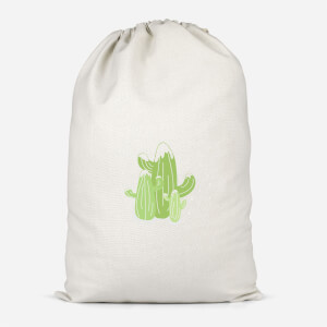 Cactus Trio Cotton Storage Bag