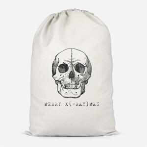 Merry X(-Ray) Mas Cotton Storage Bag