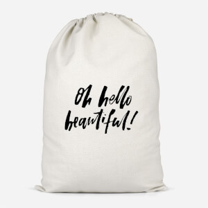 Oh Hello Beautiful Cotton Storage Bag