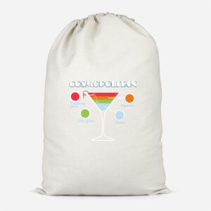 Infographic Cosmopolitan Cotton Storage Bag