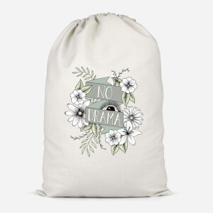 No Drama Cotton Storage Bag