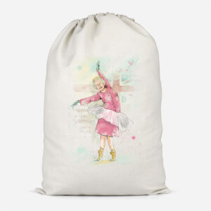 Dancing Queen Cotton Storage Bag
