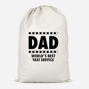 Dad Taxi Service Cotton Storage Bag
