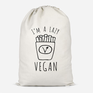 Lazy Vegan Cotton Storage Bag