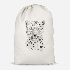 Love Hearts Cotton Storage Bag
