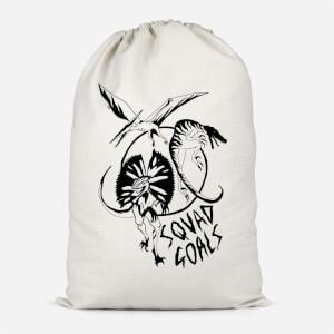 Dinosaur Squad Goals Cotton Storage Bag