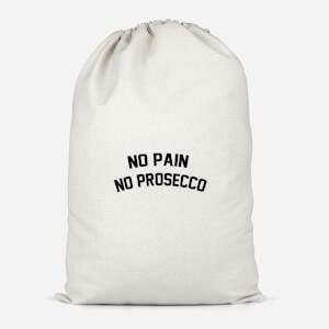 No Pain No Prosecco Cotton Storage Bag