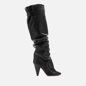 Isabel Marant Women's Lacine Knee High Boots - Black