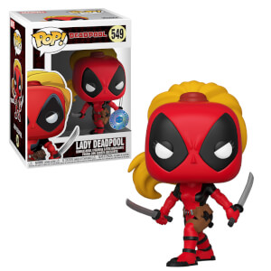 PIAB EXC Marvel 80. Jubiläum - Lady Deadpool Pop! Vinyl Figur