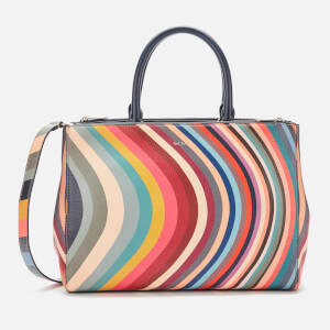 Paul Smith Women's Swirl Double Zip Tote Bag - Multi