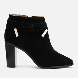 Ted Baker Women's Anaedi Suede Heeled Ankle Boots - Black