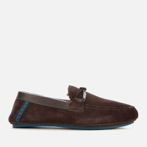 Ted Baker Men's Valcent Suede Mocassin Slippers - Brown