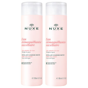 NUXE Micellar Water Duo with Rose Petals 2 x 200ml
