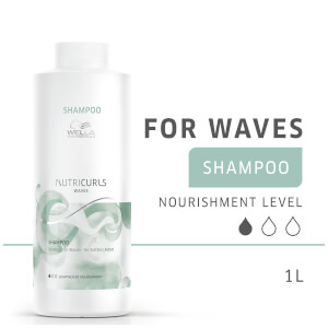 Wella Professionals Nutricurls Shampoo for Waves 1000ml: Image 9