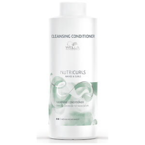 Wella Professionals Nutricurls Cleansing Conditioner for Waves and Curls 1000ml: Image 1