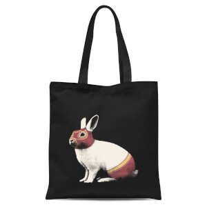 Lapin Catcheur Tote Bag - Black