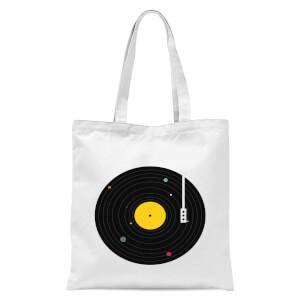 Music Everywhere Tote Bag - White