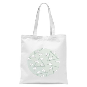 Paper Planes Tote Bag - White