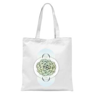 Sempervivum Tote Bag - White