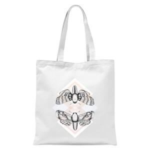 Moth Tote Bag - White