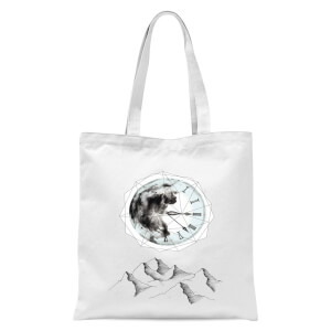 Take Your Time Tote Bag - White