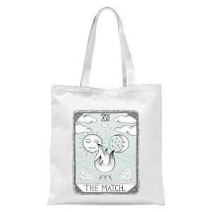 The Match Tote Bag - White