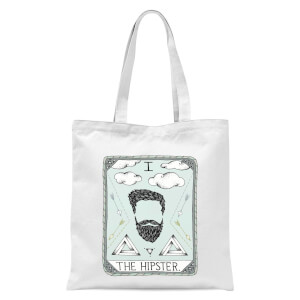 The Hipster Tote Bag - White