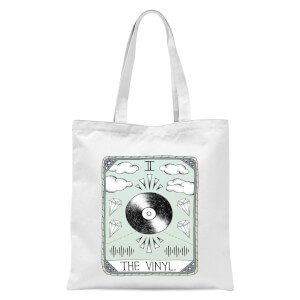 The Vinyl Tote Bag - White