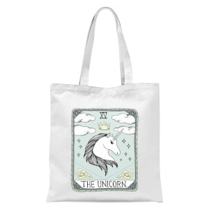 The Unicorn Tote Bag - White